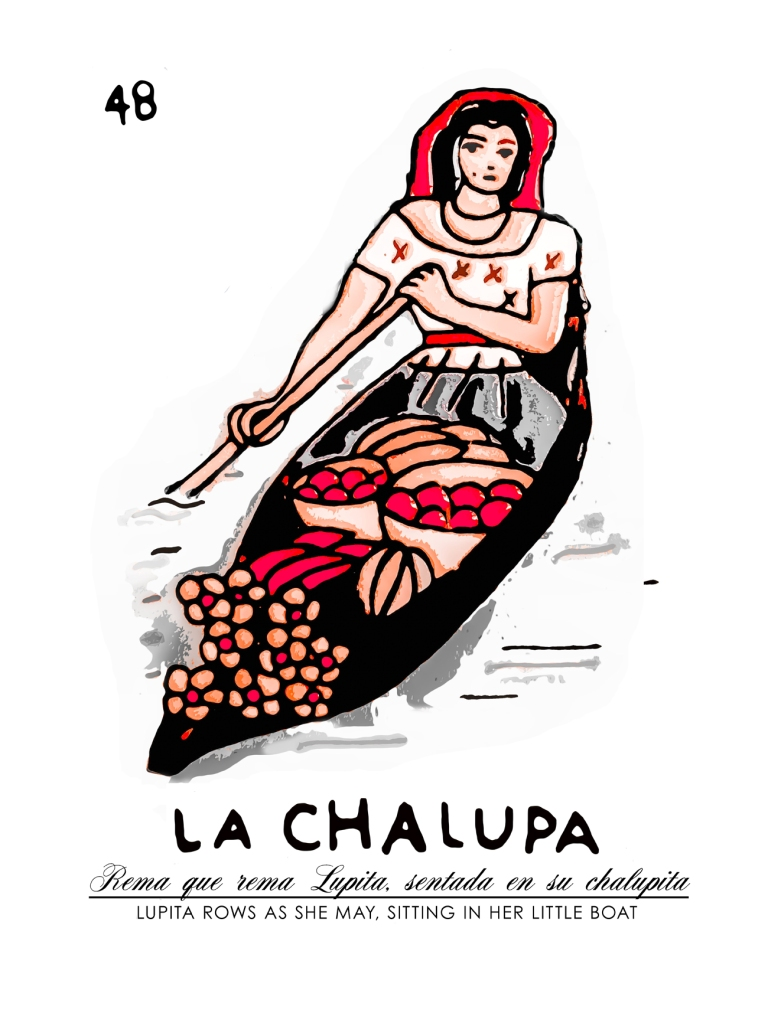 LA CHALUPA by Roam & Chroma, inspired by Meixo's La Loteria.